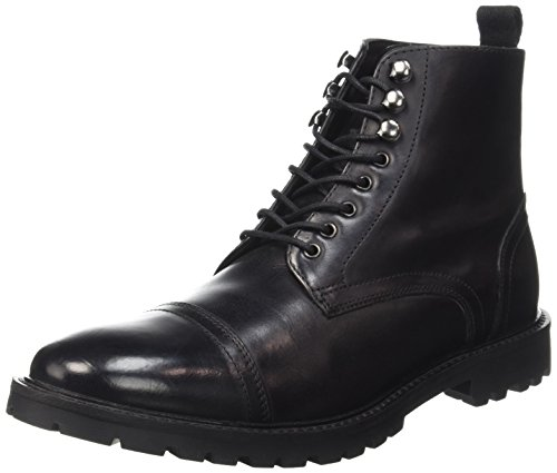 Base LondonSiege - Stivali Uomo , Nero (Noir (Washed Black)), 44