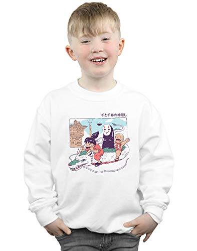 Absolute Cult Vincent Trinidad Jungen Shonen Spirits Sweatshirt Weiß 12-13 Years