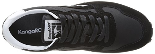 Kangaroos Blaze IV, Baskets mode homme Noir (Black/White 500)