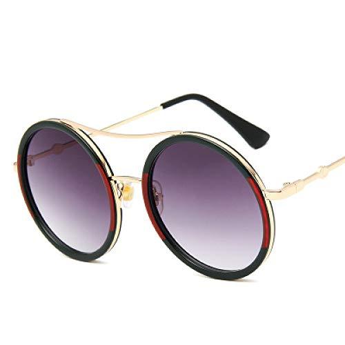 New Damenmode Sonnenbrillen Mode Metallrahmen Retro-Design, 100% UV400 Schutz