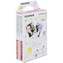 Fujifilm 16537328.Película para cámara Instax Mini, con diseño deHello Kitty 3en color blanco.
