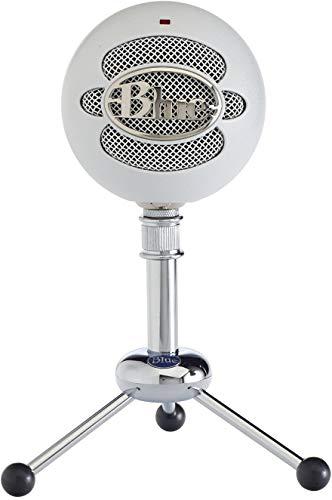 Blue Microphones Snowball- Micrófono USB, Blanco