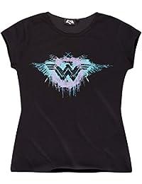 Batman vs Superman Femme Tee-shirt 2016 Collection - noir