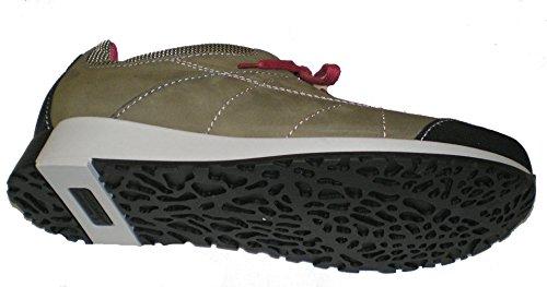 Waldläufer 360003-300-084 Haleria donna scarpe Beige/Nero