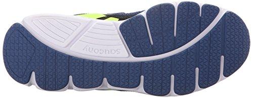 Saucony Kotaro 3 Alternative Closure Sneaker (Little Kid/Big Kid) Blue/Black/Citron