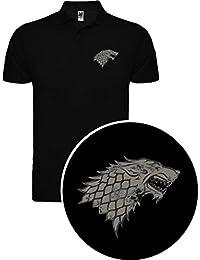 Polo de Hombre Juego de Tronos Stark Tyrion Dragon Daenerys