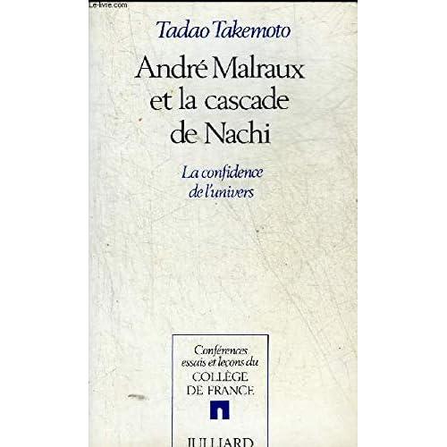 André Malraux et la cascade de Nachi