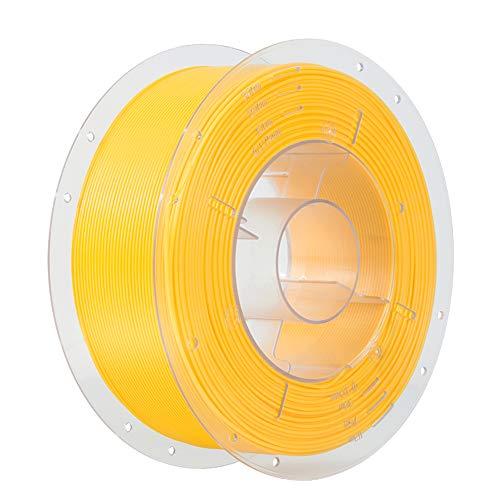 Comgrow 3D-Drucker PLA-Filament 1.75mm 1KG Spule Gelb