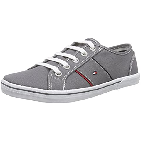 Tommy Hilfiger S3285later 1d-1 - Zapatillas Unisex Niños