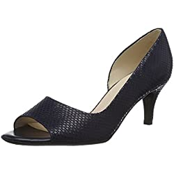 Peter Kaiser Damen Jamala Pumps, Blau (Notte Topic 714), 39 EU