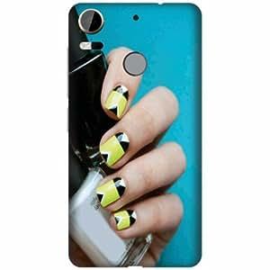 Printland Designer Back Cover For HTC Desire 10 Pro - Nail Art Designer Cases