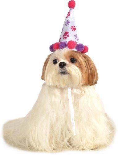 Haustier Hund Katze Tier Entdeckt Happy Geburtstag Hut KostüM Kleid Kostüm Outfit S/M & M/L - Mädchen Style, S/M