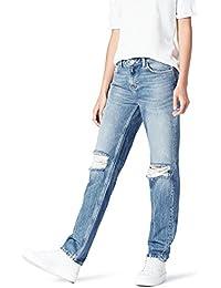 Amazon-Marke: find. Damen Boyfriend Jeans mit Rissen