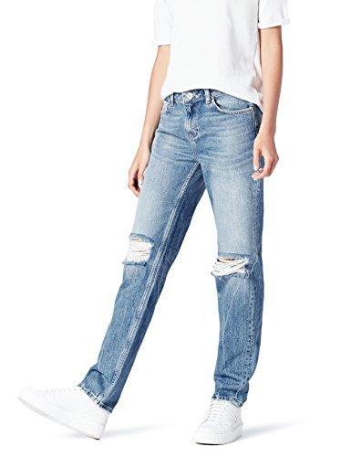 Marchio Amazon find. Jeans Boyfriend con Strappi Donna