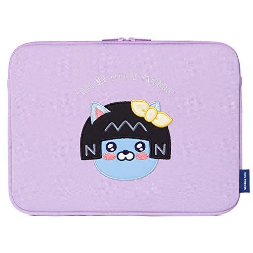 KAKAO FRIENDS Basic-Hülsen-Abdeckung für 13 13,3-Zoll-Gesichts-Stickerei Charakter Laptop einschließlich Dekoration Aufkleber Neo 13,3-zoll-ultrabooks Notebook