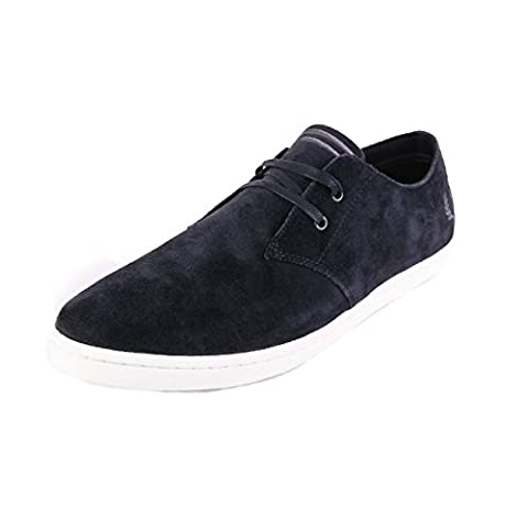 Fred Perry Byron Low Suede Navy White