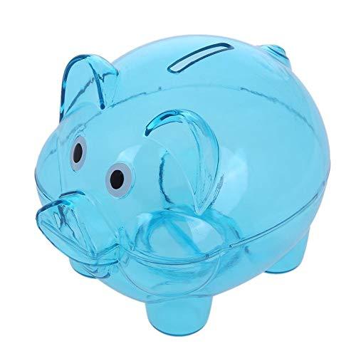 Fliyeong Kunststoff transparent Geld sparen Box Kinder Cash/Coin Safe Sparschwein langlebig und nützlich