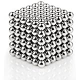 #4: Perfect Magnet Blue / Silver / Maroon Magic Metal Magnet Size: 5 mm (50 Pieces)
