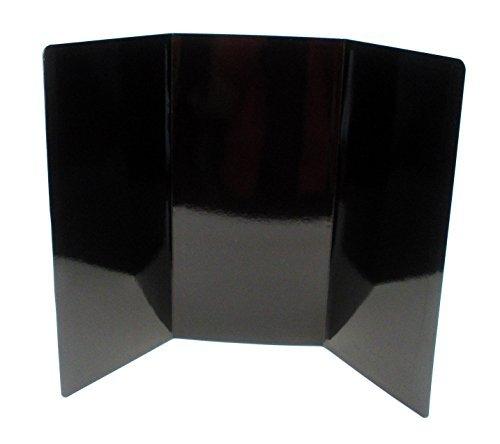 Kling Magic Wand 71,1cm von 48,3cm Leichte Magnet Receptive Dry Erase Projekt Display Board schwarz