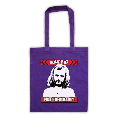 John Peel Gone ma non dimenticato Tote Bag Viola