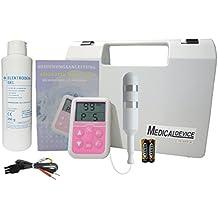 Electroestimulador y fortalecedor para suelo pélvico + sonda vaginal y gel de contacto (5 programas). Ayuda contra las perdidas de orina