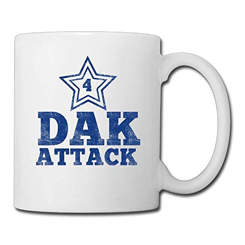 e5f2f1ffb 13.5-Ounce Ceramic Coffee Mug - Dak Prescott #4 Tea Cup, Gift For