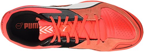Puma Invicto Sala F6, Chaussures de Football Entrainement Mixte Adulte Rouge (Red 11)