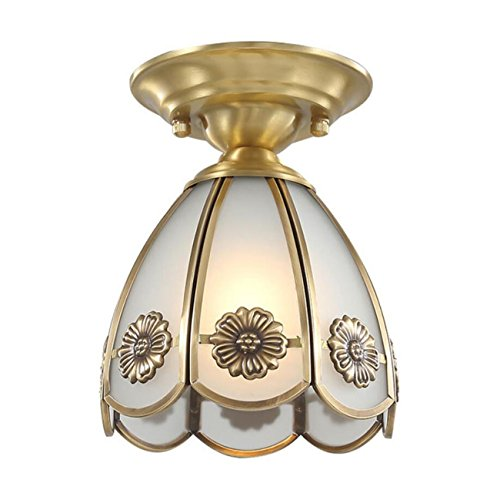 Lámpara de techo empotrada en forma de taza Lámpara de techo moderna / contemporánea Copa de vidrio 3 Lámparas de techo que cambian de color Gama de iluminación de 3-8㎡ para dormitorio Sala de estar H