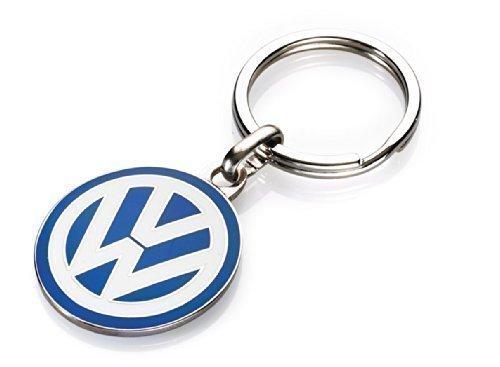 Original VW Schlüsselanhänger VW Logo ca. 30 mm emailliert