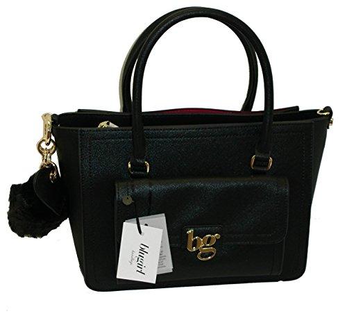 Borsa BAULETTO con tracolla due manici BLUGIRL BG 813001 women bag NERO