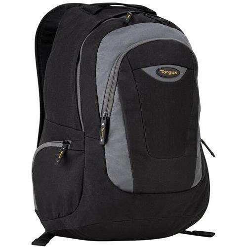 Targus Trek Laptop Backpack for 16″ Notebook Black/Yellow/White Accent Model TSB193US