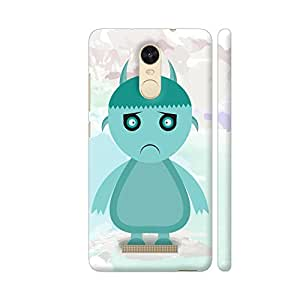 Colorpur Redmi Note 3 Cover - Disney Halloween Printed Back Case