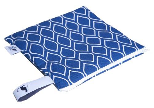 Mon Petit Bleu 5901323929878 Multi Use Bag - Multi-Funktions-Tasche - vielfach nutzbar, waschbar, wasserdicht und sogar lebensmittelecht - Muster Mosaik, Größe S