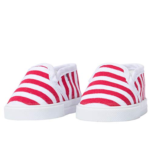 The New York Doll Collection Zapatillas Lona muñeca