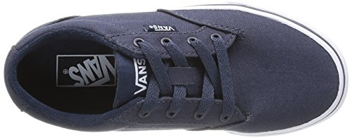 Vans Y Winston, Baskets mode mixte enfant Bleu (Navy/White)
