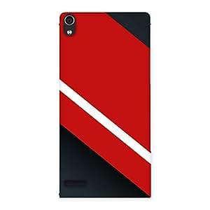 Neo World Super Premium Stripes Back Case Cover for Ascend P6