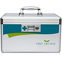 Out - Patient Box Medizin Aufbewahrungsbox Aluminiumlegierung Medizinische Boxen Für den Hausgebrauch Erste Hilfe... preisvergleich bei billige-tabletten.eu