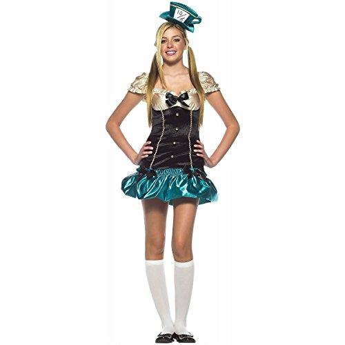 arty Hostess Teen Damen Fasching Halloween Karneval Kostüm 36/38 (Tea-party-kostüme)