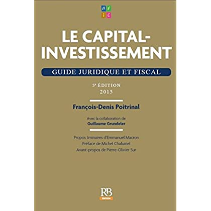Le capital-investissement - 5e édition (HORS COLLECTION)
