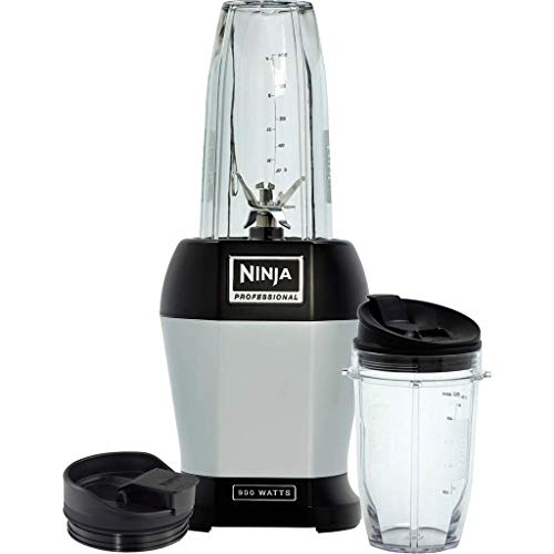Shark Ninja BL450 Batidora de vaso, 900 W, Acero inoxidable, Negro, Plata