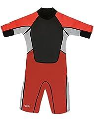 Yello Boys' Dusky Infant Shorty Upf 50 Plus Wetsuit