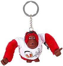 Kipling Headset Monkey, Porte-clés femme, Multicolore (Headset), 1x1x1 cm (B x H T)