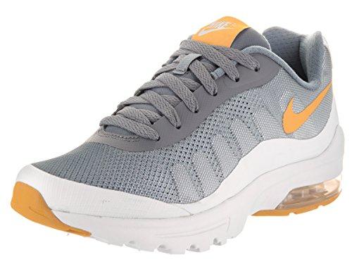 Nike W Air Max Invigor Print, Chaussures de Running Femme Multicolore (Cool Grau/gold Dart Orange/pure Platinum Grau/weiß)