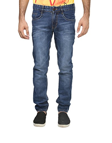 Trendy Trotters Mens Denim Jeans (Ttj1Lnl-H32 _Blue _32)