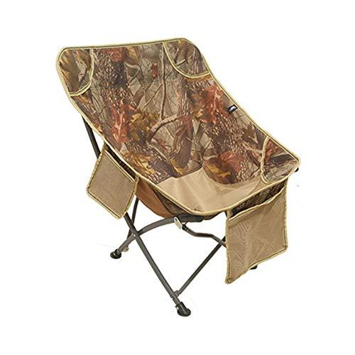 KPPTO Tisch und Stuhl, klappsitz, tragbare mond Stuhl, einfache, runde einzigen klappstuhl Beautiful Life (Style : B) -