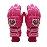 feiledi Trade Kinder Skihandschuhe Winter Dicke warme Handschuhe niedlichen Cartoon Jungen und Mädchen im Freien Schnee Handschuhe