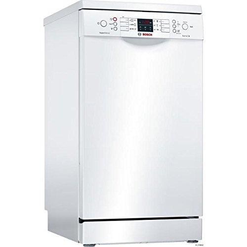 Bosch Serie 4 SPS46IW01E Autonome 9places A+ lave-vaisselle - Lave-vaisselles (Autonome, Blanc, Compact, Blanc, boutons, LED)