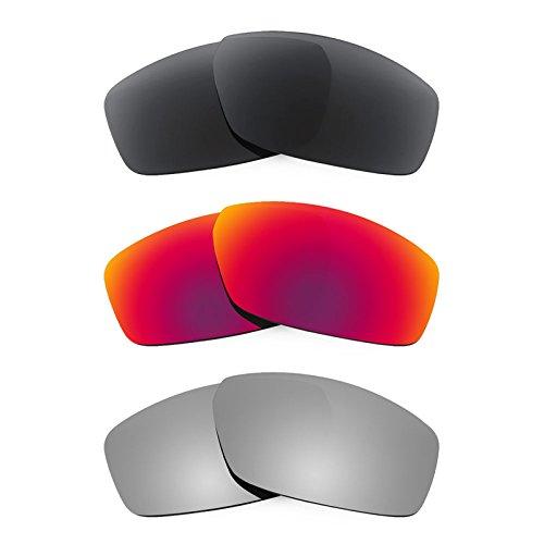 Revant Ersatzlinsen für Spy Optic Dirty Mo Polarisiert 3 Paar Kombipack K017