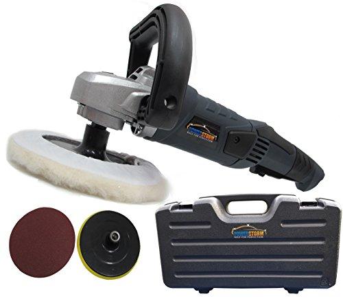 PowerStorm®–Auto-polijstmachine 129659–180mm polierhaube–met accessoires