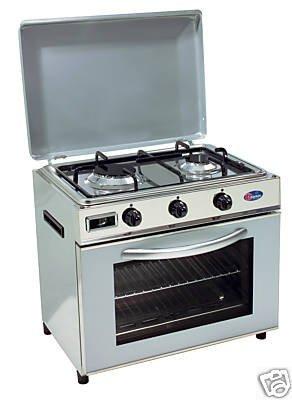 Preisvergleich Produktbild Gaskocher Campingkocher Kleinherd Cucina mit Backröhre Parker